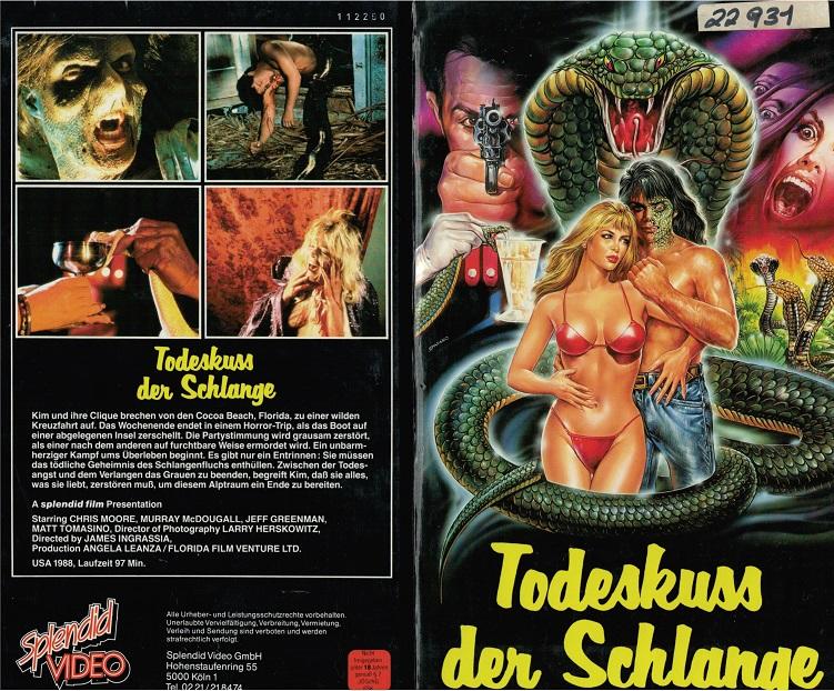 Kritik: Todeskuss der Schlange (1988)