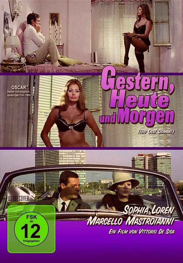 Release: Gestern, Heute und Morgen (1963) auf DVD