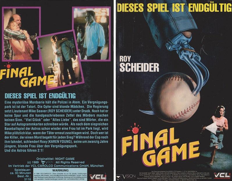 Kritik: Final Game - Die Killerkralle (1989)