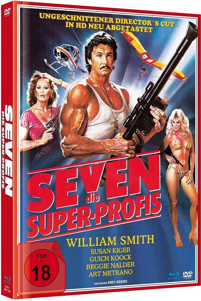 Seven - Ungekürzter Director`s Cut Limited Mediabook-Edition