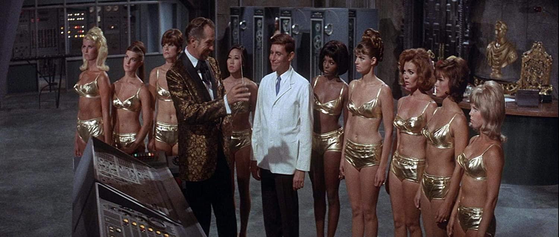 """""""Dr. Goldfoot und seine Bikini-Maschine"""" auf DVD / Blu-ray im KeepCase"""