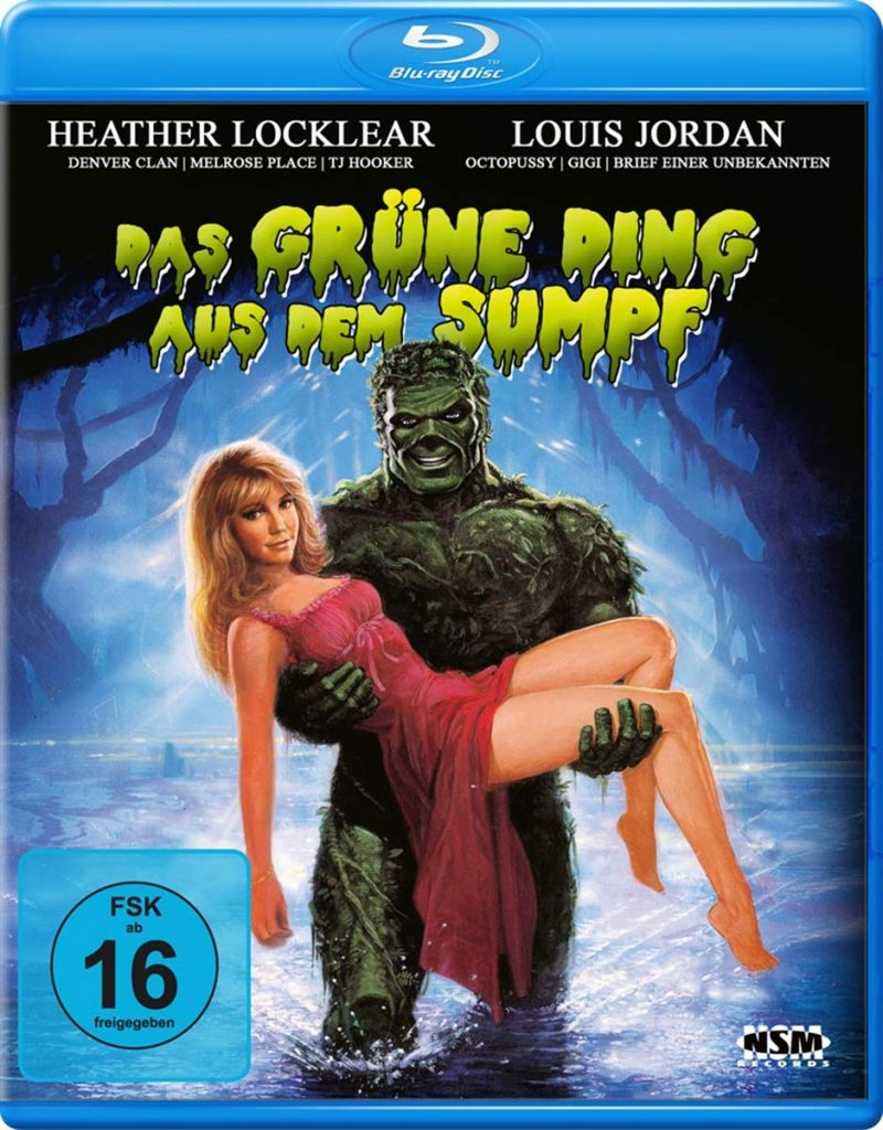 Das grüne Ding aus dem Sumpf [Blu-ray]