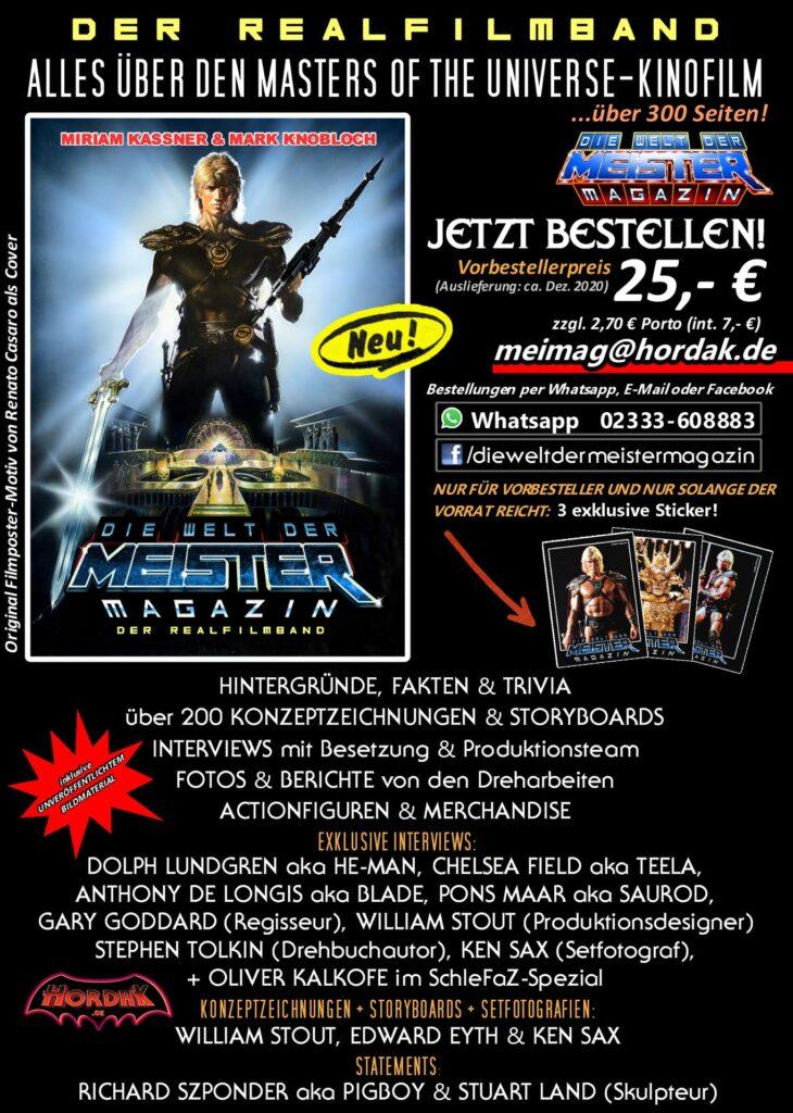 DER REALFILMBAND – Alles über den Masters of the Universe-Kinofilm!