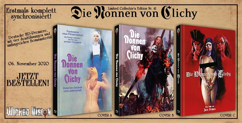 DIE NONNEN VON CLICHY die Nummer 41 der Collector's Series aus dem Hause Wicked Vision