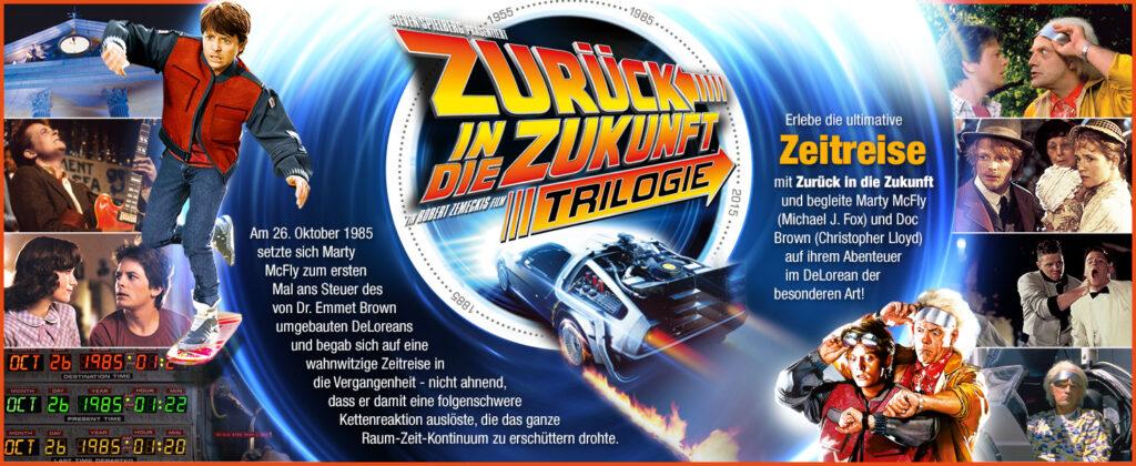 Zurück in die Zukunft - Trilogie (Remastered) [Blu-ray]