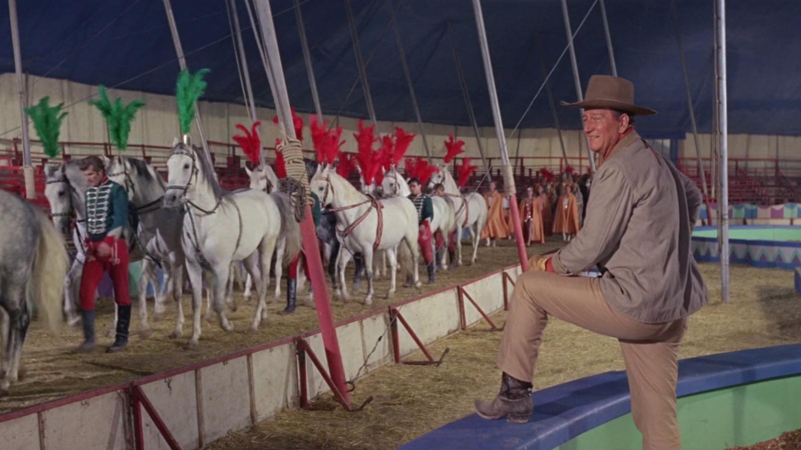 ZIRKUSWELT (1964) mit John Wayne erhält Neuauflage Blu-ray