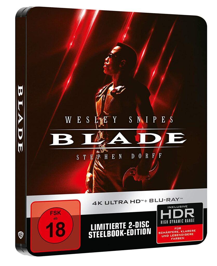 Die Macht eines Unsterblichen. Die Seele eines Menschen. Das Herz eines Helden - Blade - Steelbook (4K Ultra HD) (+ Blu-ray 2D)