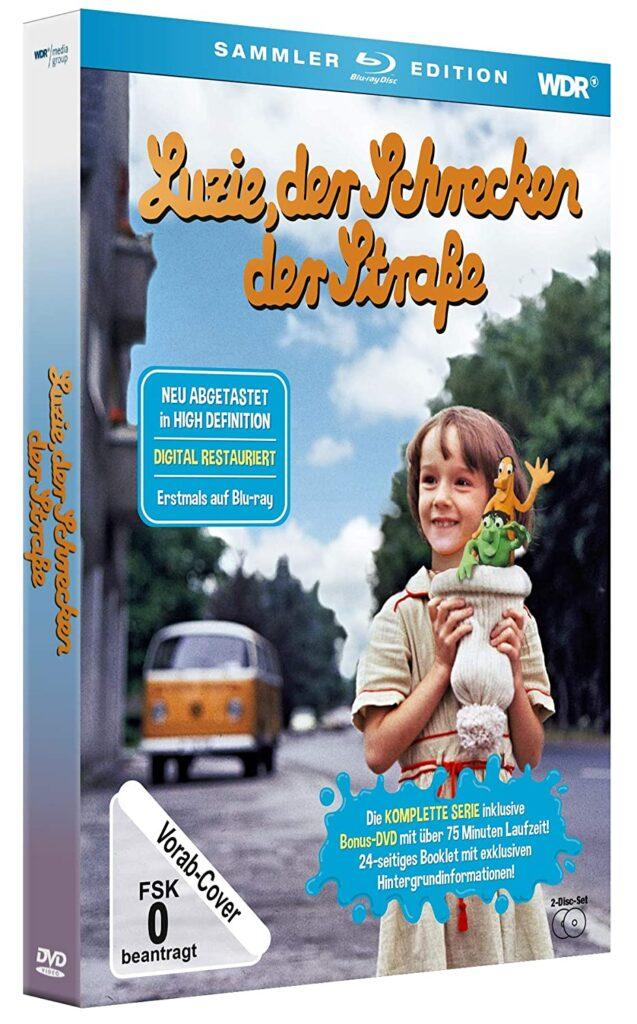 Luzie, der Schrecken der Straße - Die komplette Serie digital restauriert erscheint auf Blu-ray