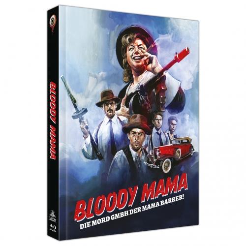 """""""Bloody Mama"""" erscheint in drei verschiedenen Mediabooks von Wicked-Vision"""