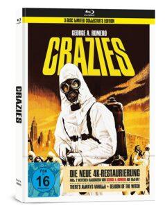 George A. Romero's Crazies (+ Bonusfilme) - 3-Disc Collector's Edition im Mediabook