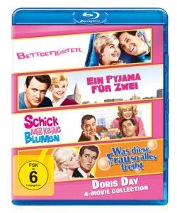 Doris Day 4 Movie Collection